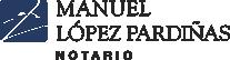 Notaría Manuel López Pardiñas Logo